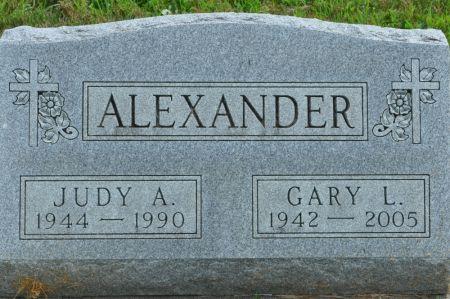 ALEXANDER, JUDY A. - Grundy County, Iowa   JUDY A. ALEXANDER