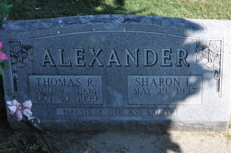 ALEXANDER, THOMAS R. - Grundy County, Iowa | THOMAS R. ALEXANDER