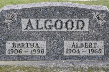 ALGOOD, ALBERT - Grundy County, Iowa | ALBERT ALGOOD