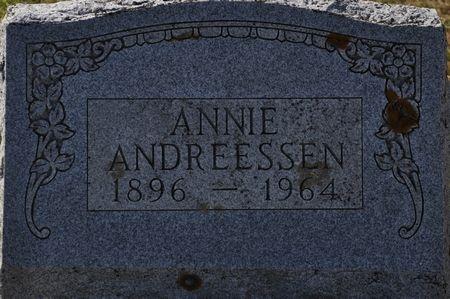 ANDREESSEN, ANNIE - Grundy County, Iowa   ANNIE ANDREESSEN