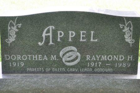 APPEL, RAYMOND H. - Grundy County, Iowa | RAYMOND H. APPEL
