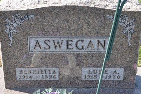ASWEGAN, HENRIETTA - Grundy County, Iowa | HENRIETTA ASWEGAN