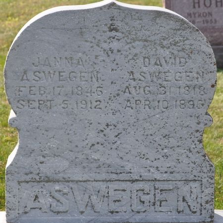 ASWEGEN, DAVID - Grundy County, Iowa | DAVID ASWEGEN