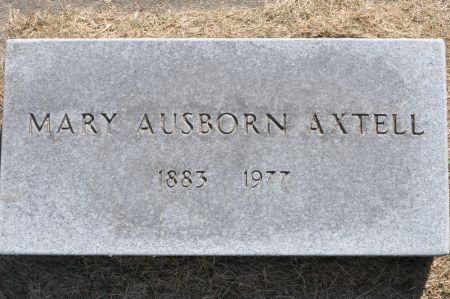 AXTELL, MARY (AUSBORN) - Grundy County, Iowa | MARY (AUSBORN) AXTELL