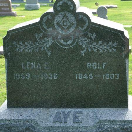 AYE, LENA C. - Grundy County, Iowa | LENA C. AYE