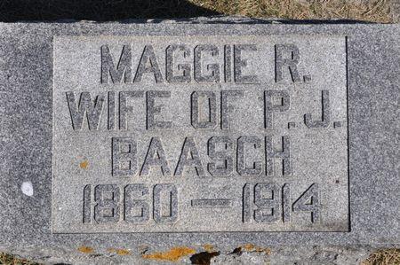 BAASCH, MAGGIE R. - Grundy County, Iowa | MAGGIE R. BAASCH