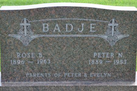 BADJE, ROSE B. - Grundy County, Iowa | ROSE B. BADJE