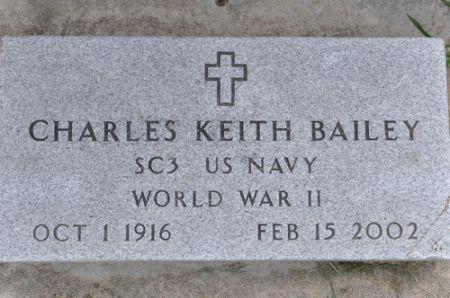 BAILEY, CHARLES KEITH - Grundy County, Iowa | CHARLES KEITH BAILEY