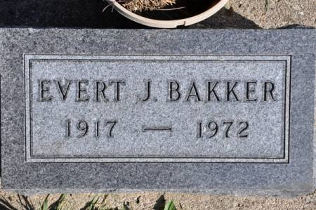 BAKKER, EVERT J. - Grundy County, Iowa | EVERT J. BAKKER