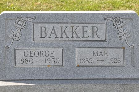 BAKKER, MAE - Grundy County, Iowa | MAE BAKKER