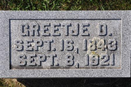 BAKKER, GREETJE D. - Grundy County, Iowa | GREETJE D. BAKKER