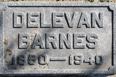 BARNES, DELEVAN - Grundy County, Iowa | DELEVAN BARNES