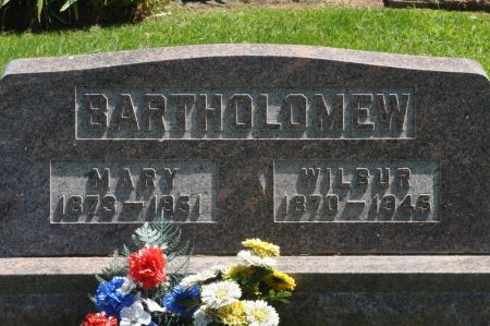 BARTHOLOMEW, MARY - Grundy County, Iowa | MARY BARTHOLOMEW