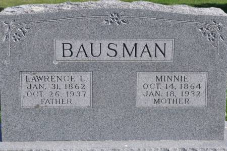 BAUSMAN, LAWRENCE L. - Grundy County, Iowa | LAWRENCE L. BAUSMAN