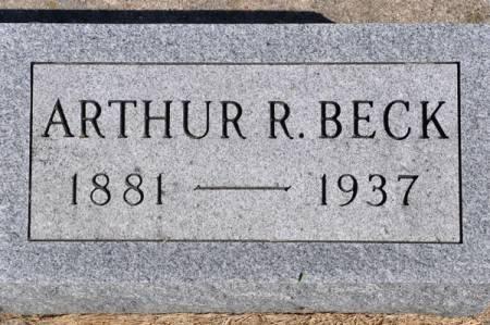 BECK, ARTHUR R. - Grundy County, Iowa | ARTHUR R. BECK