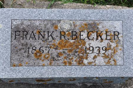 BECKER, FRANK R. - Grundy County, Iowa | FRANK R. BECKER