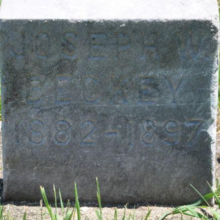 BECKEY, JOSEPH W. - Grundy County, Iowa | JOSEPH W. BECKEY