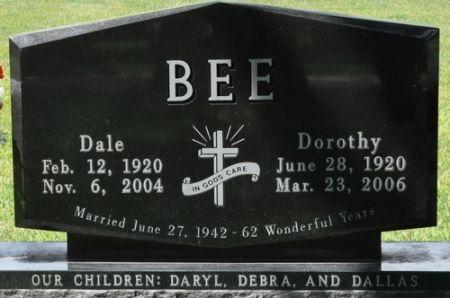 BEE, DALE - Grundy County, Iowa | DALE BEE