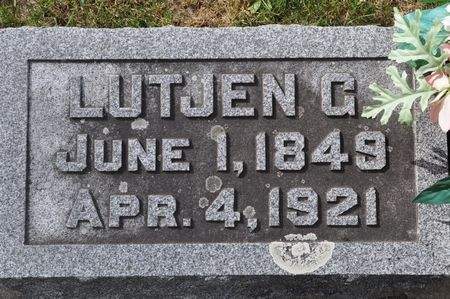 BEENKEN, LUTJEN G. - Grundy County, Iowa | LUTJEN G. BEENKEN