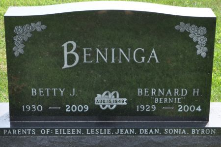 BENINGA, BETTY J. - Grundy County, Iowa | BETTY J. BENINGA