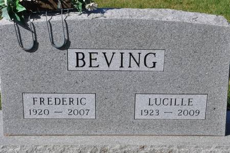 BEVING, FREDERIC - Grundy County, Iowa | FREDERIC BEVING