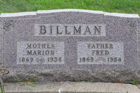 BILLMAN, FRED - Grundy County, Iowa | FRED BILLMAN