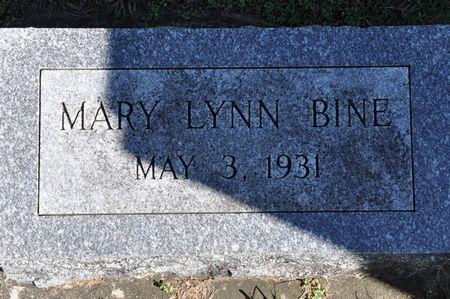 BINE, MARY LYNN - Grundy County, Iowa   MARY LYNN BINE