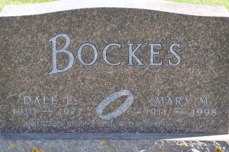 BOCKES, MARY M. - Grundy County, Iowa | MARY M. BOCKES