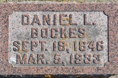 BOCKES, DANIEL L. - Grundy County, Iowa | DANIEL L. BOCKES