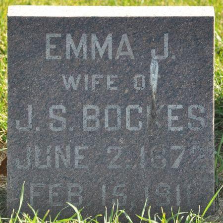 BOCKES, EMMA J. - Grundy County, Iowa | EMMA J. BOCKES