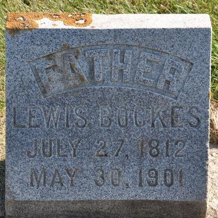 BOCKES, LEWIS - Grundy County, Iowa   LEWIS BOCKES