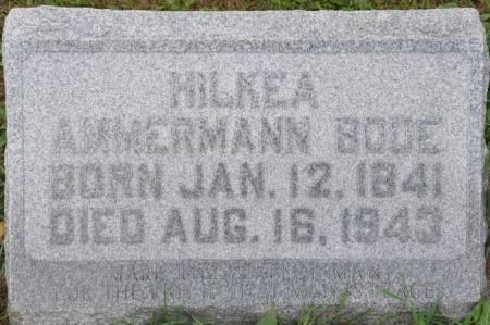BODE, HILKEA (AMMERMANN) - Grundy County, Iowa | HILKEA (AMMERMANN) BODE