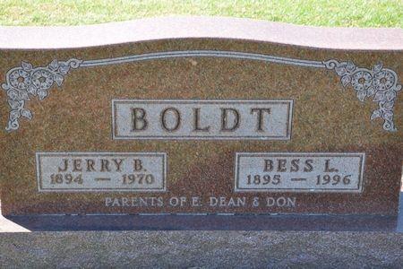 BOLDT, BESS L. - Grundy County, Iowa   BESS L. BOLDT