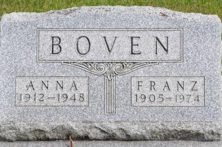 BOVEN, FRANZ - Grundy County, Iowa | FRANZ BOVEN