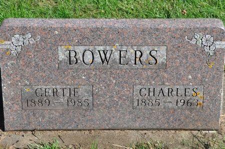 BOWERS, GERTIE - Grundy County, Iowa   GERTIE BOWERS