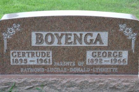 BOYENGA, GEORGE - Grundy County, Iowa | GEORGE BOYENGA