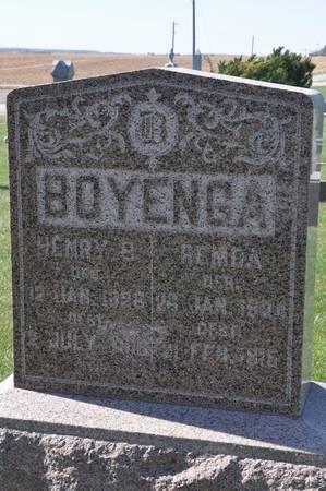 BOYENGA, HENRY B. - Grundy County, Iowa | HENRY B. BOYENGA