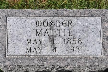 BOYENGA, MATTIE - Grundy County, Iowa   MATTIE BOYENGA