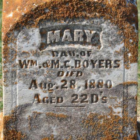 BOYERS, MARY - Grundy County, Iowa | MARY BOYERS