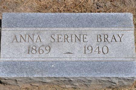 BRAY, ANNA SERINE - Grundy County, Iowa | ANNA SERINE BRAY