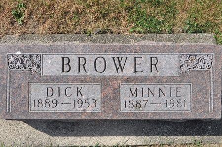 BROWER, MINNIE - Grundy County, Iowa | MINNIE BROWER