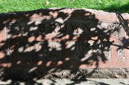 BROWN, BYRON H. - Grundy County, Iowa | BYRON H. BROWN