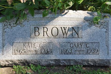BROWN, GARY C. - Grundy County, Iowa | GARY C. BROWN