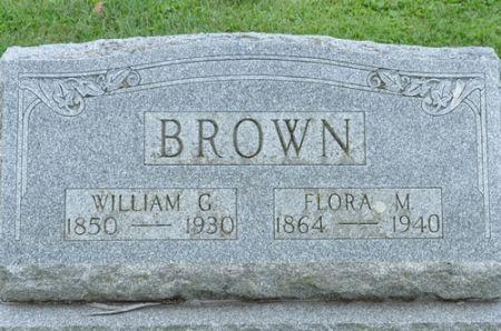 BROWN, WILLIAM G. - Grundy County, Iowa | WILLIAM G. BROWN