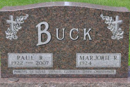 BUCK, PAUL R. - Grundy County, Iowa | PAUL R. BUCK