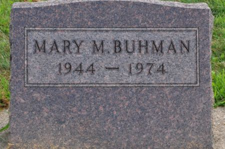 BUHMAN, MARY M. - Grundy County, Iowa | MARY M. BUHMAN