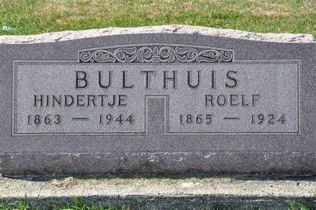 BULTHUIS, ROELF - Grundy County, Iowa | ROELF BULTHUIS