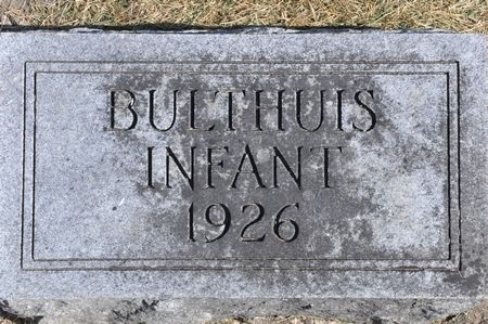 BULTHUIS, INFANT - Grundy County, Iowa | INFANT BULTHUIS