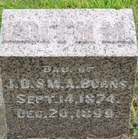 BURNS, EDITH M. - Grundy County, Iowa | EDITH M. BURNS
