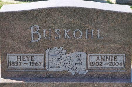 BUSKOHL, HEYE - Grundy County, Iowa | HEYE BUSKOHL